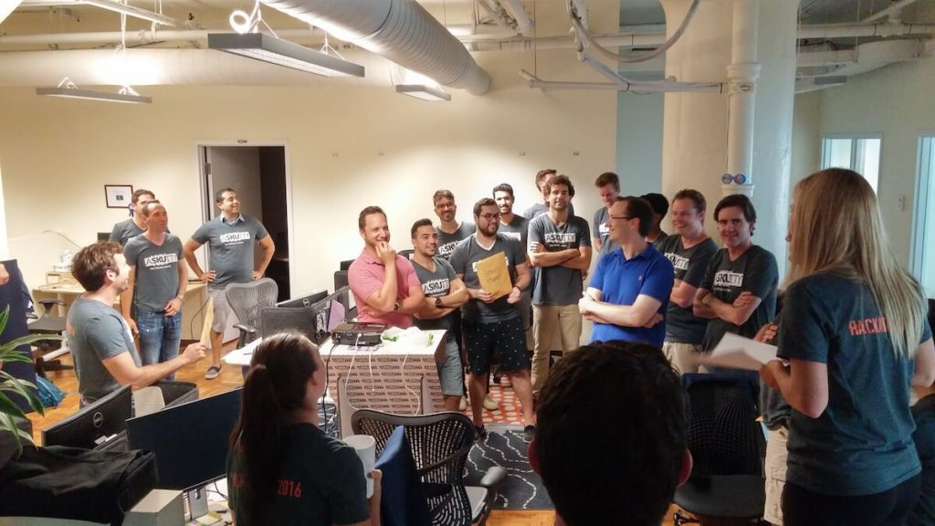 Hackathon has wrapped up, time to start the scavenger hunt!