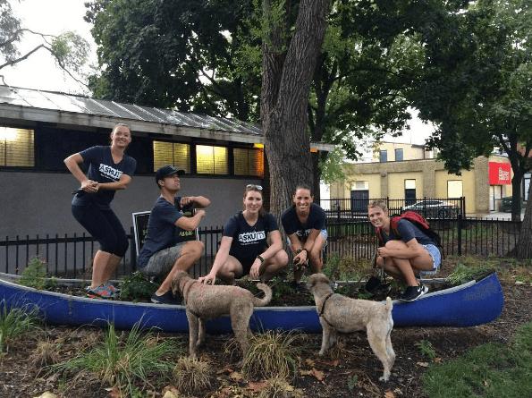 Nice canoe!
