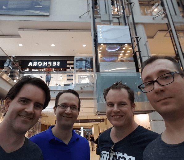 Have you ever seen this many developers in front of  a Sephora?