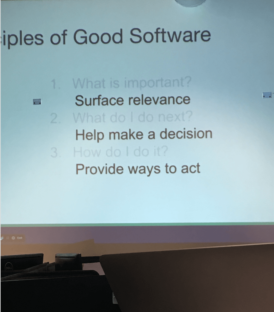 Let's not forget, it's all about the software...